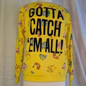 Sweaters - Pokemon crewneck sweatshirt
